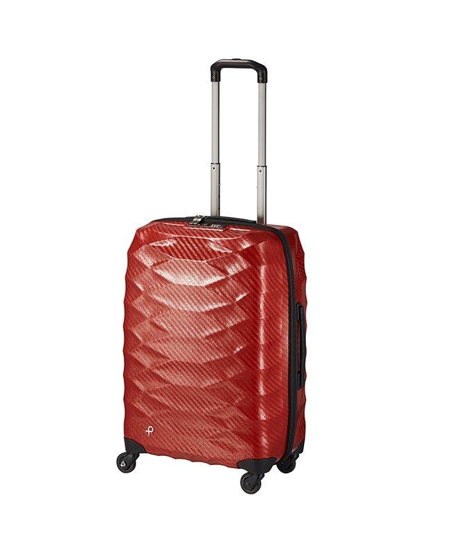 カバンのセレクション エース プロテカ スーツケース 超軽量 Mサイズ 53L ACE PROTeCA 01822 エアロフレックスライト ユニセックス レッド フリー 【Bag & Luggage SELECTION】