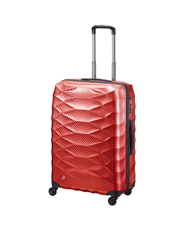 カバンのセレクション エース プロテカ スーツケース 超軽量 受託手荷物規定内 Lサイズ 74L ACE PROTeCA 01823 エアロフレックスライト ユニセックス レッド フリー 【Bag & Luggage SELECTION】
