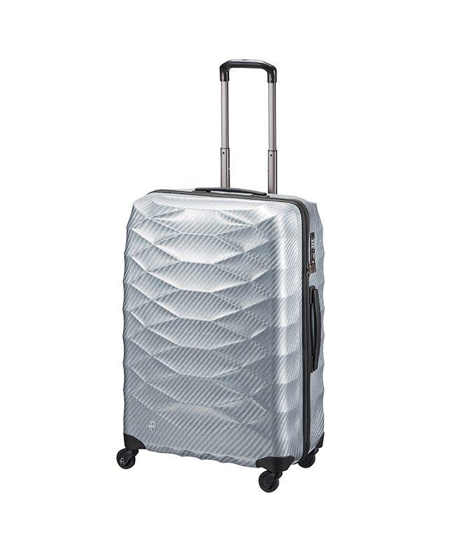 カバンのセレクション エース プロテカ スーツケース 超軽量 受託手荷物規定内 Lサイズ 74L ACE PROTeCA 01823 エアロフレックスライト ユニセックス グレー フリー 【Bag & Luggage SELECTION】