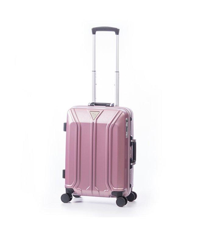 カバンのセレクション アジアラゲージ スーツケース 機内持ち込み Sサイズ ストッパー フレーム イケかる 軽量 ALI−1031−18S 35L ユニセックス ホワイト フリー 【Bag & Luggage SELECTION】