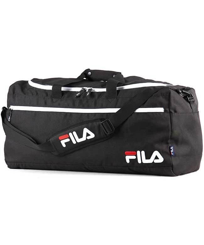 カバンのセレクション フィラ FILA ボストンバッグ レディース メンズ 50L 大容量 修学旅行 旅行 合宿 新作 7524 ユニセックス ブラック 在庫 【Bag & Luggage SELECTION】