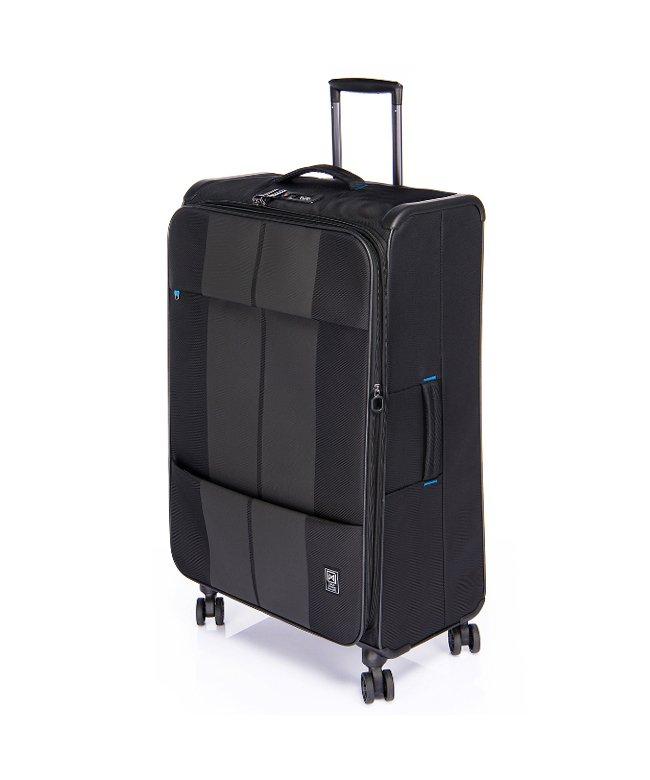 カバンのセレクション フィノキシーゼロ スーツケース ソフト 超軽量 大容量 拡張 80L〜88L Finoxy ZERO fnzr−72 ユニセックス ブラック フリー 【Bag & Luggage SELECTION】