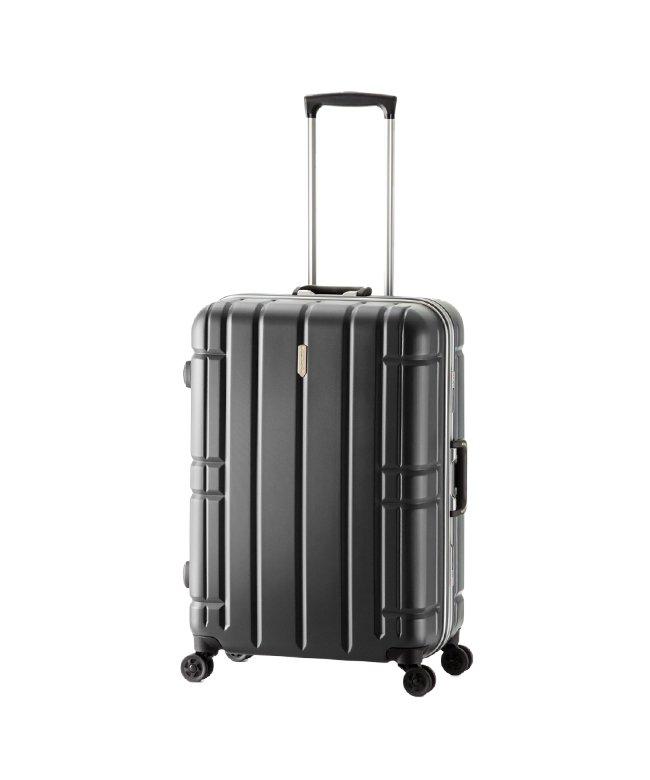カバンのセレクション アジアラゲージ スーツケース Lサイズ フレーム アリマックス 大容量 大型 軽量 AliMaxG 74L MF−5016 ユニセックス ブラック フリー 【Bag & Luggage SELECTION】