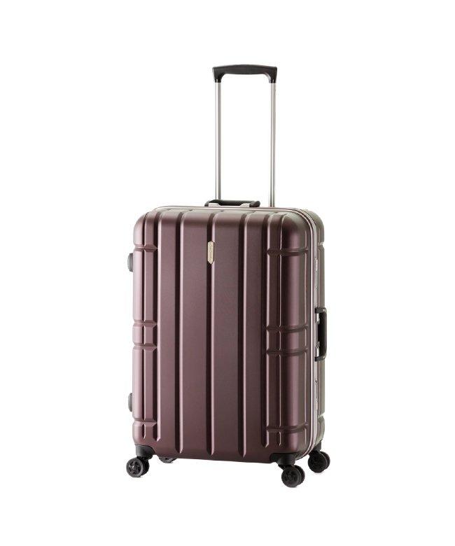 カバンのセレクション アジアラゲージ スーツケース Lサイズ フレーム アリマックス 大容量 大型 軽量 AliMaxG 74L MF−5016 ユニセックス ワイン フリー 【Bag & Luggage SELECTION】