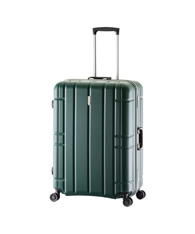 カバンのセレクション アジアラゲージ スーツケース LLサイズ フレームタイプ アリマックス 軽量 大型 大容量 100L AliMaxG MF−5017 ユニセックス グリーン フリー 【Bag & Luggage SELECTION】