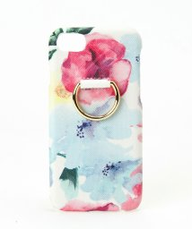 ALTROSE/スマホリング付花柄 iPhoneケース 6.7.8対応 背面型 [フ゛ルーム]/501966976