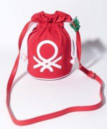 BENETTON (women)/ブランドロゴ巾着型ミニショルダーバッグ/502426810