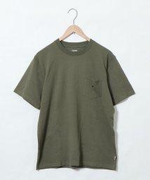 coen/USAコットンクルーネックカラーTシャツ/502430628