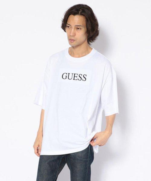 LHP(エルエイチピー)/GUESS/ゲス/別注刺繍BIG TEE(ティーシャツ)/435119102-60