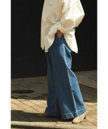 ROSE BUD/GURKHA WIDE LEG DENIM PANTS/502443209