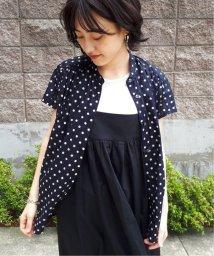 JOURNAL STANDARD/80ローンムジドットギャザーシャツ◆2/502443561