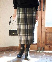 ROPE' PICNIC/【新色追加】【WEB限定:着丈が選べる】ビッグチェックアイラインスカート/502443584