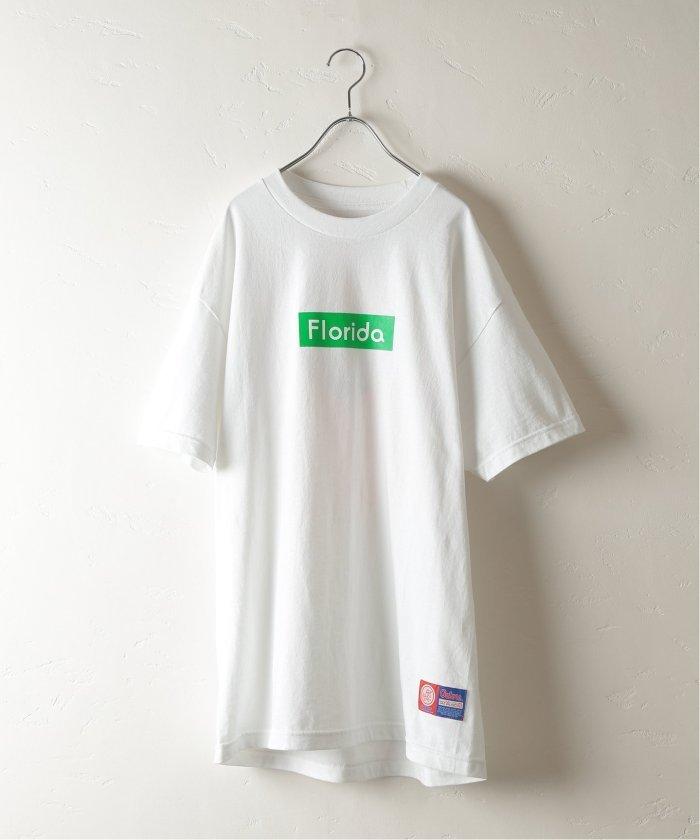 UNIV.PRINT Tシャツ