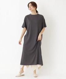 DRESSTERIOR/【洗える】DEPENDバックスリットワンピース/502445884