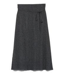 Mila Owen/ランダムリブラメニットスカート/502446175