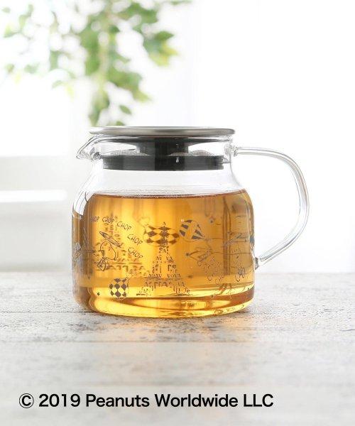 Afternoon Tea LIVING(アフタヌーンティー・リビング)/PEANUTS/茶漉し付き耐熱ポット/GD7819306450