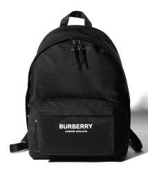 BURBERRY/【BURBERRY】Logo print ナイロンバックパック/502423672