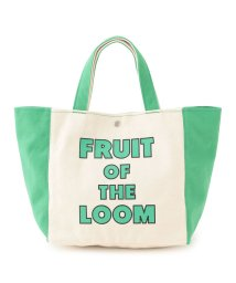 JUNRed/【FRUIT OF THE LOOM】2TONE TOTE BAG/502432289