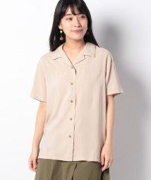 petit main LIEN/レーヨンオープンシャツ/502432602
