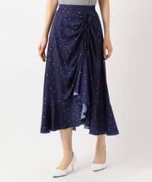KUMIKYOKU(LARGE SIZE)/【洗える】Almaプリント スカート/502446786