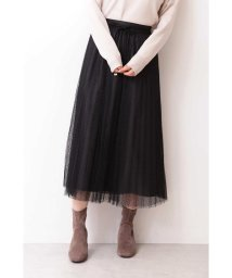 PROPORTION BODY DRESSING/◆ドットチュールプリーツスカート/502446660
