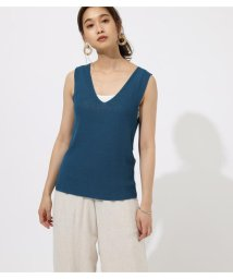 AZUL by moussy/DRY V/N KNIT TANK/502447020