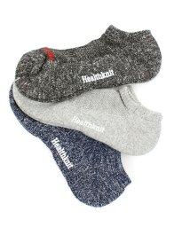 TopIsm/Healthknit(ヘルスニット)3足セット靴下アンクルソックス/502027581
