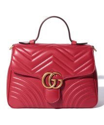 GUCCI/【GUCCI】2WAYハンドバッグ / GG MARMONT 【HIBIS RED】/502430223