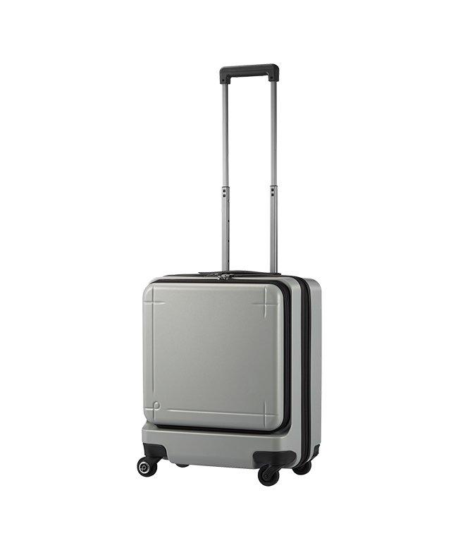 カバンのセレクション エース プロテカ マックスパス3 スーツケース 機内持ち込み Sサイズ 40L ACE 02961 ストッパー フロントオープン ユニセックス シルバー フリー 【Bag & Luggage SELECTION】