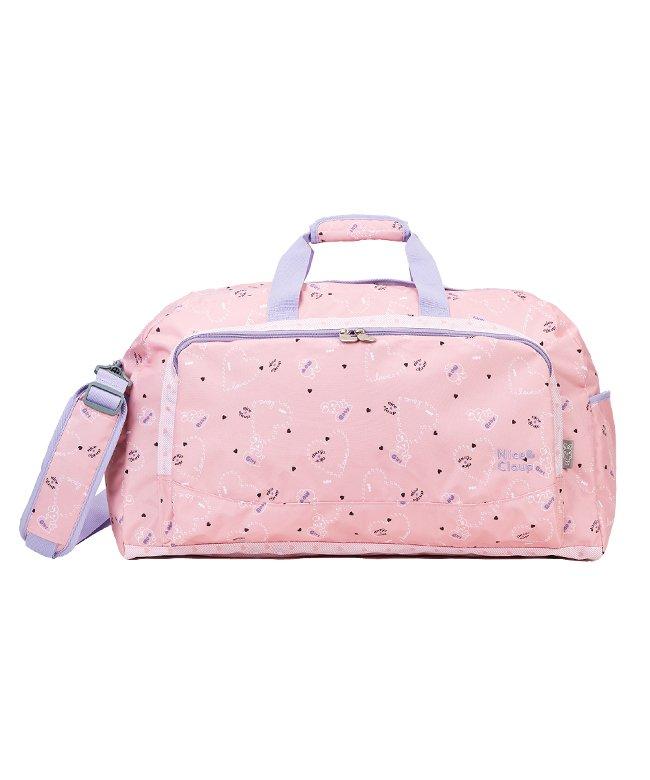 カバンのセレクション ナイスクラップ ボストンバッグ 42L 修学旅行 林間学校 女の子 女子 かわいい NICE CLAUP NC358 ユニセックス ピンク フリー 【Bag & Luggage SELECTION】