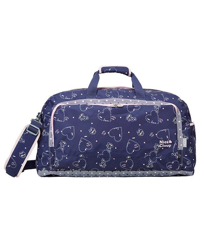 カバンのセレクション ナイスクラップ ボストンバッグ 42L 修学旅行 林間学校 女の子 女子 かわいい NICE CLAUP NC358 ユニセックス ネイビー フリー 【Bag & Luggage SELECTION】