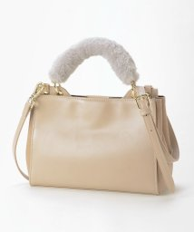 le.coeur blanc OUTLET/ファーハンドル3WAYバッグ/502447242