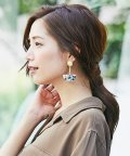 Perle Peche OUTLET/Nahmu Jewelryハーフムーンピアス/502447257