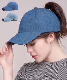 miniministore/デニム キャップ 帽子 レディース  キャップ おしゃれ 野球帽 無地 CAP 紫外線対策 即納/502447308
