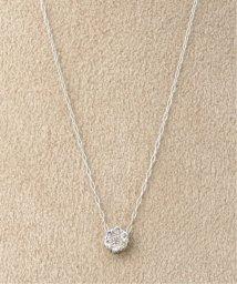 DECOUVERTE/《WEB限定》PT 0.1ct ダイヤモンド 7ネックレス/502447872