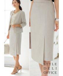 STYLE DELI/【SD OFFICE】サラサラ麻微混スカート/Made in JAPAN/502447889