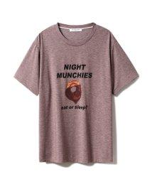 GELATO PIQUE HOMME/【GELATO PIQUE HOMME】NIGHT MUNCHIES Tシャツ/502448897
