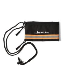 bPr BEAMS/BEAMS / リフレクター ライン ネック ポーチ/501999248