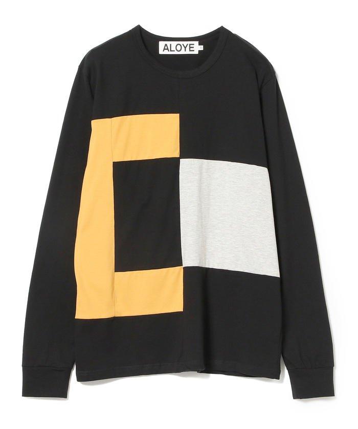 ALOYE × Ray BEAMS / 別注 カラー ロングスリーブ Tシャツ