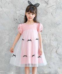 子供服Bee/リボン付きワンピース/502354137
