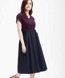 LANVIN en Bleu/レース切替OP/502360189