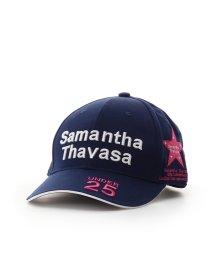 Samantha Thavasa UNDER25&NO.7/トーナメントキャップネイビー/502399320