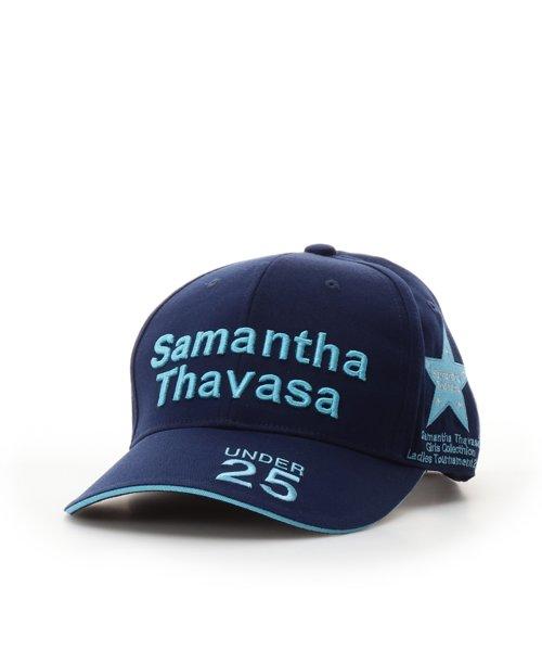 Samantha Thavasa UNDER25&NO.7(サマンサタバサアンダー)/トーナメントキャップネイビー/00771915190000