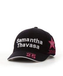 Samantha Thavasa UNDER25&NO.7/トーナメントキャップブラック/502399321