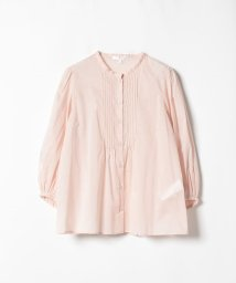 To b. by agnes b./WK93 CHEMISE ピンタックブラウス/502439012