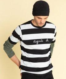 agnes b. HOMME/【WEB限定】SCN4 TS ボーダーTシャツ/502439253