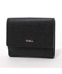 FURLA/978869 PZ57 B30 BABYLON S レザー 二つ折り財布 ミニ財布 ONYX レディース/502443751