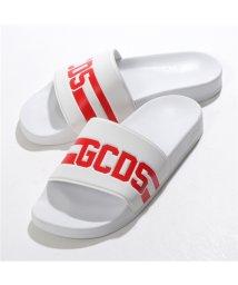 GCDS/CC94U010216 01 シャワーサンダル スポーツ サンダル スポサン コンフォート シューズ WHITE メンズ/502443770