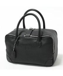 GOLDEN GOOSE/G34WA156 A1 Equipage bag P-M レザー ハンドバッグ スクエア ボストンバッグ BLACK レディース/502443820