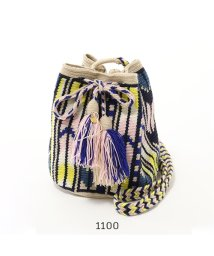 GUANABANA/Guanabana Handmade グアナバナ Wayuu bag MEDIUM ワユーバッグ 巾着 ショルダーバッグ ポシェット 幾何学柄 エスニック/502443822